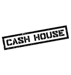 Cash House rubber stamp vector image