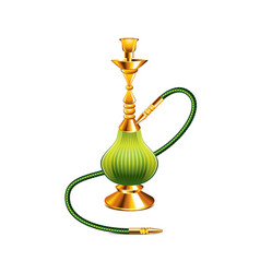 Hookah isolated vector