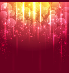 light gold and red abstract background vector image