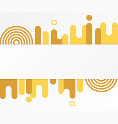 Modern abstract shapes vector