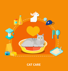 Pet care concept vector