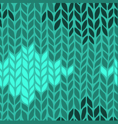 seamless knit pattern vector image