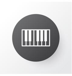 synthesizer icon symbol premium quality isolated vector image