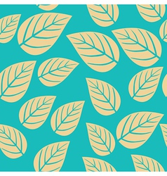 seamless leaf pattern Abstract ornament vector image vector image
