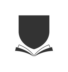 Book-Crest-380x400 vector image vector image