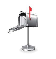 mail box isolated vector image vector image
