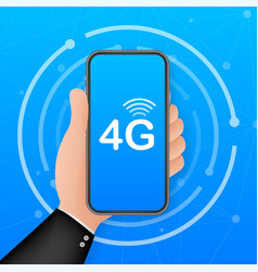 4g network wireless systems and internet vector