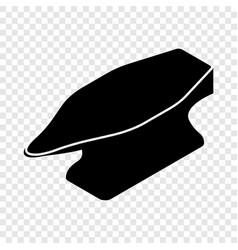 Anvil icon simple black style vector