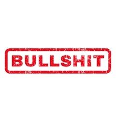 Bullshit Rubber Stamp vector image