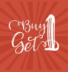 Buy one get 1 vector