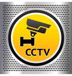 Cctv symbol vector