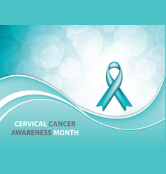 cervical cancer vector image