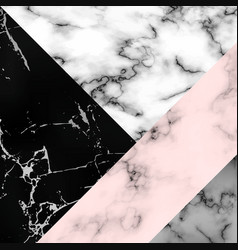Different marble textures combined into one vector