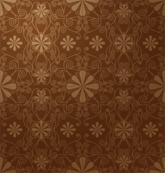 floral seamless pattern for design vector image