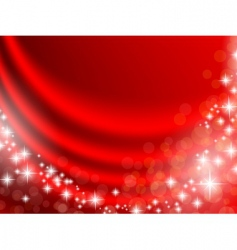 holiday curtain vector image