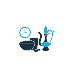 Iftar colorful icon symbol premium quality vector