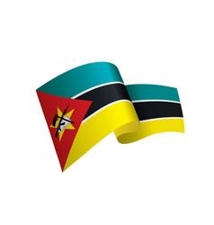 mozambique flag vector image