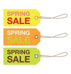 Spring sign set vector