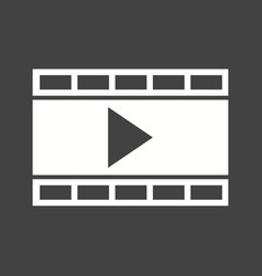video and animation vector image
