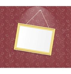 Vintage Photo Frame background vector image