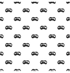 Zombie mouth pattern vector