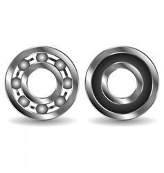 bearings vector image