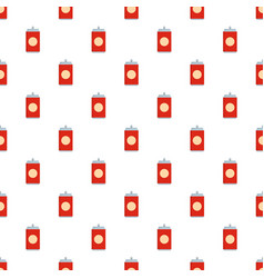 soda pattern seamless vector image