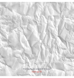 Pattern Crumpled Paper vector image
