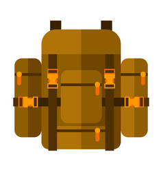 backpack image or icon vector image