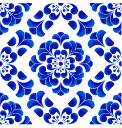 Chinese pattern flower vector