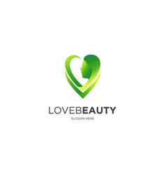 love beauty vector image