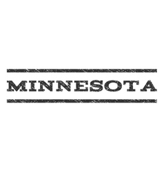 Minnesota Watermark Stamp vector image
