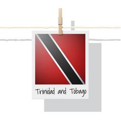 photo of trinidad and tobago flag vector image