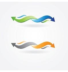 Vintage arrows set for your design vector image