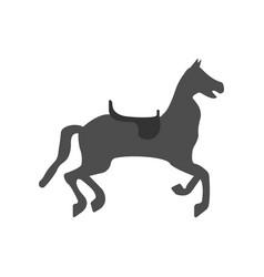 circus horse icon vector image