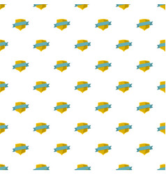 badge pattern seamless vector image