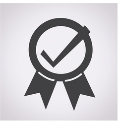 certified seal icon vector image