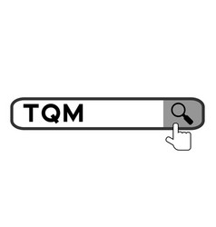 Search banner in word tqm abbreviation total vector