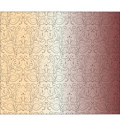 Hand made floral ornament pattern vector