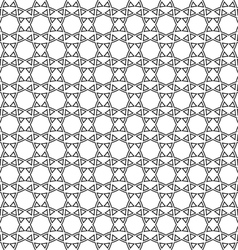 Abstract ethnic delicate seamless pattern vector image vector image