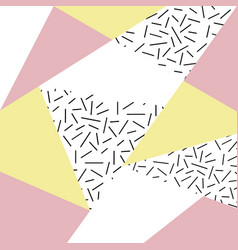 Abstract geometric pattern or background vector