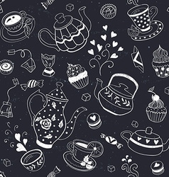 Baking seamless background vector