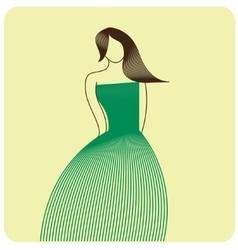 Fashion figure vector