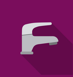 faucet icon of for web and vector image