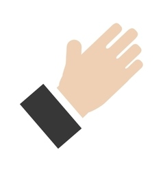 hand design Isolated icon Flat vector image