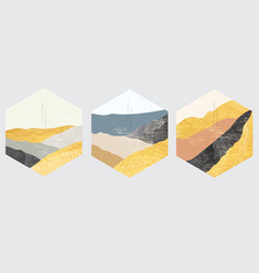 Japanese background with gold foil texture vector