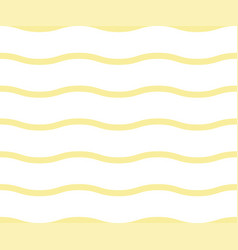 noodle seamless pattern yellow waves abstract vector image