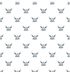 sheriff pattern seamless vector image