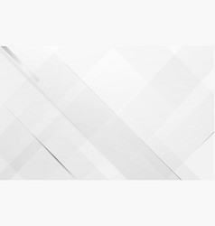 white abstract modern geometric square background vector image