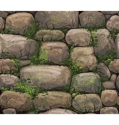 texture of stones vector image vector image
